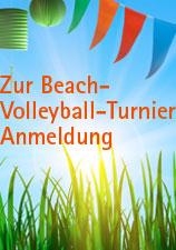 Beachvolleyball-Turnier Anmeldung